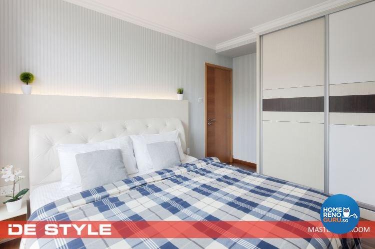 Modern, Scandinavian Design - Bedroom - Condominium - Design by De Style Interior Pte Ltd
