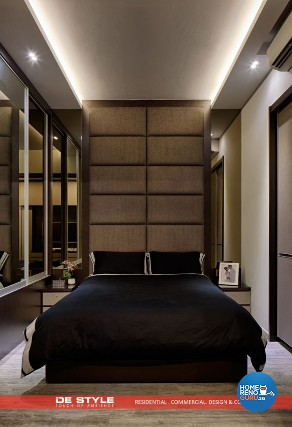 Contemporary, Modern Design - Bedroom - Condominium - Design by De Style Interior Pte Ltd