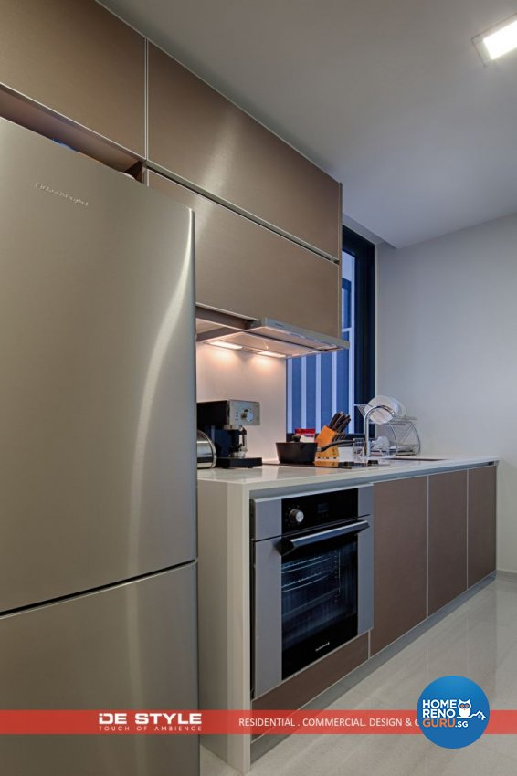 Contemporary, Modern Design - Kitchen - Condominium - Design by De Style Interior Pte Ltd