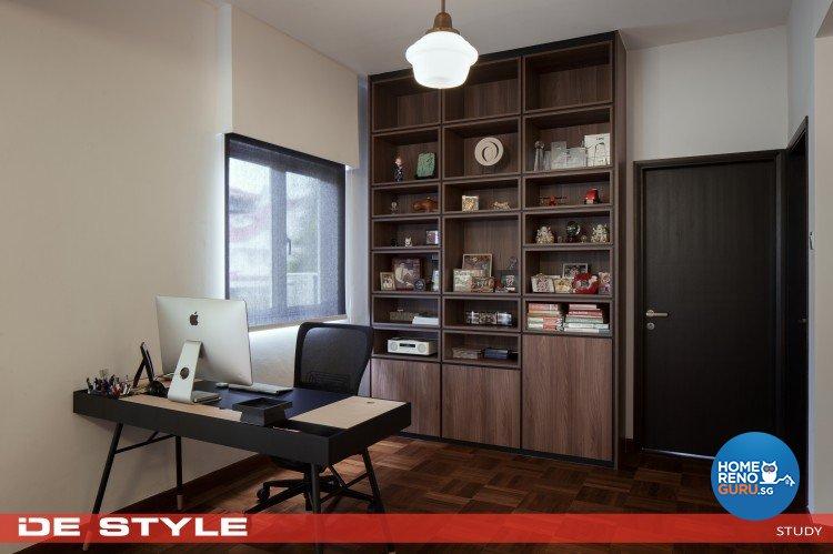 Modern Design - Study Room - Landed House - Design by De Style Interior Pte Ltd