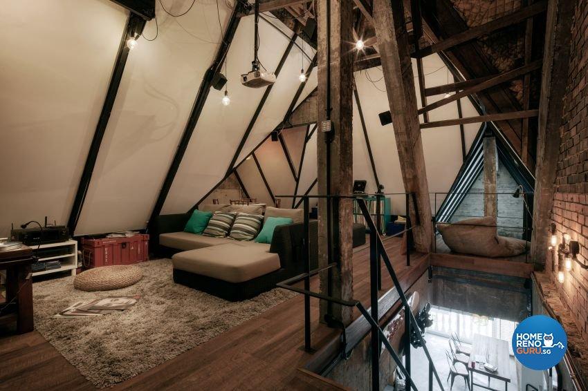 Industrial, Rustic Design - Bedroom - HDB 3 Room - Design by De Style Interior Pte Ltd