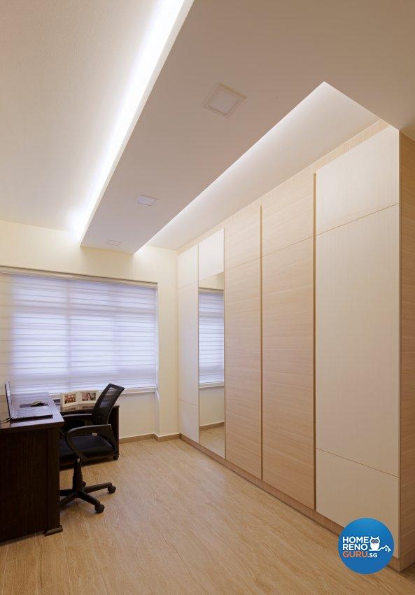 Modern Design - Bedroom - HDB 3 Room - Design by De Style Interior Pte Ltd