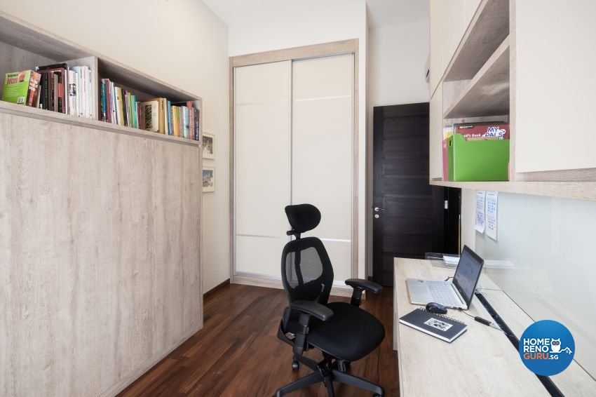 Minimalist Design - Study Room - Landed House - Design by De Style Interior Pte Ltd