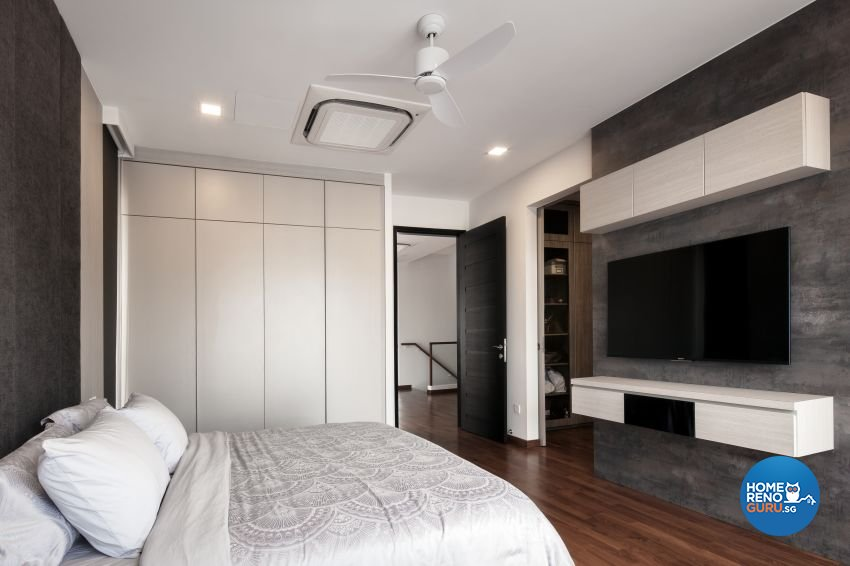 Minimalist Design - Bedroom - Landed House - Design by De Style Interior Pte Ltd