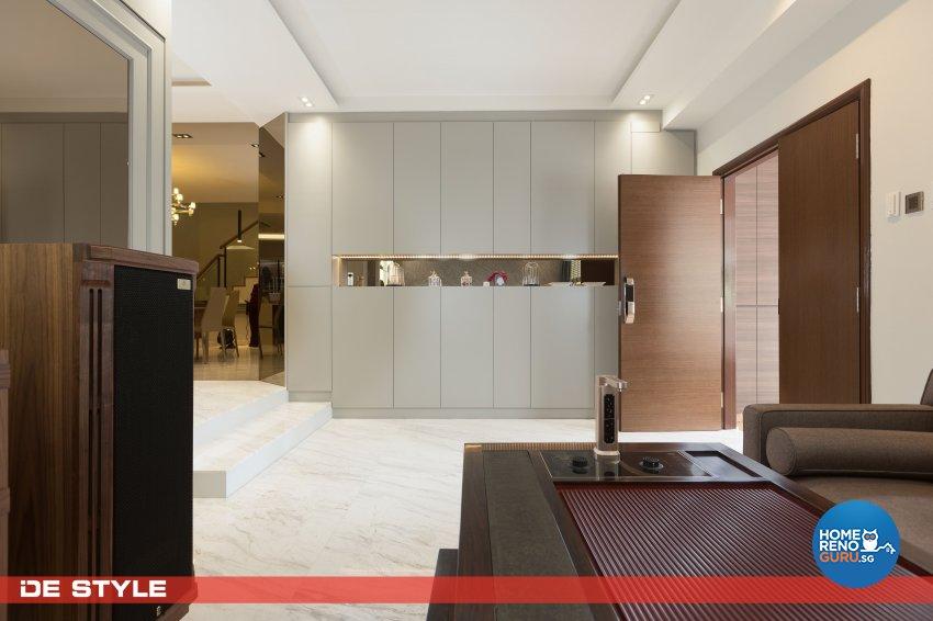 Contemporary, Modern Design - Living Room - Landed House - Design by De Style Interior Pte Ltd