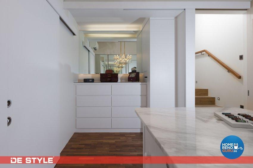 Contemporary, Modern Design - Dining Room - Landed House - Design by De Style Interior Pte Ltd