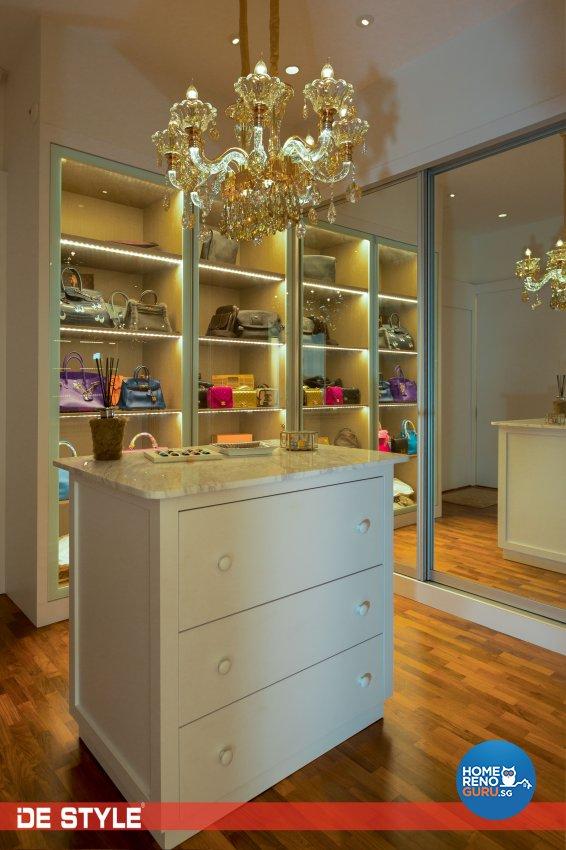 Contemporary, Modern Design - Bedroom - Landed House - Design by De Style Interior Pte Ltd