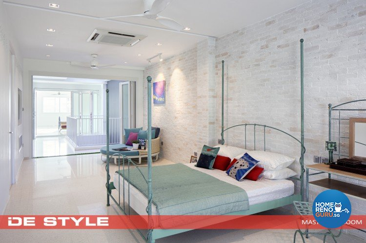 Minimalist Design - Bedroom - Landed House - Design by De Style Interior Pte Ltd