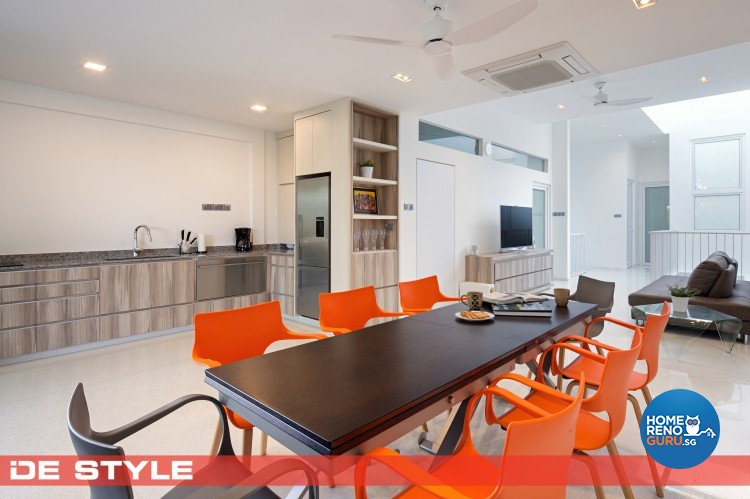 Minimalist Design - Dining Room - Landed House - Design by De Style Interior Pte Ltd