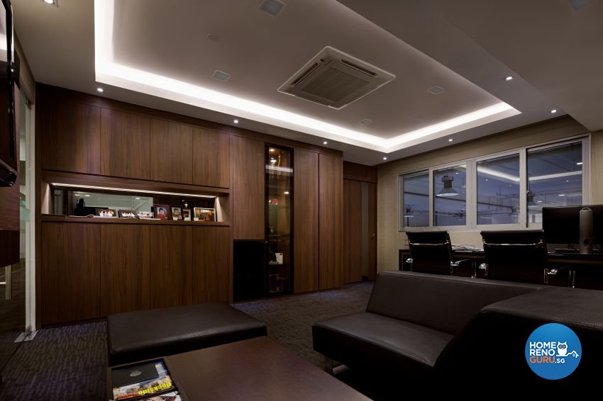 Contemporary Design - Entertainment Room - Retail - Design by De Style Interior Pte Ltd