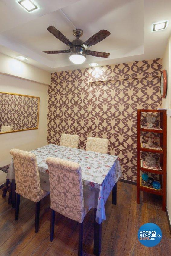 Classical, Contemporary Design - Dining Room - HDB Executive Apartment - Design by Decormark Design Pte Ltd