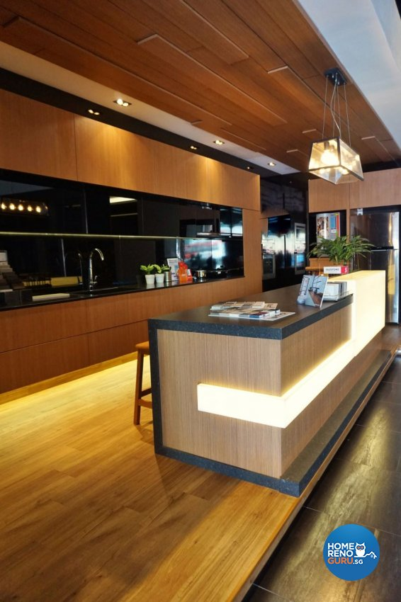 Industrial, Modern Design - Kitchen - Office - Design by Des & Co Interior Pte Ltd