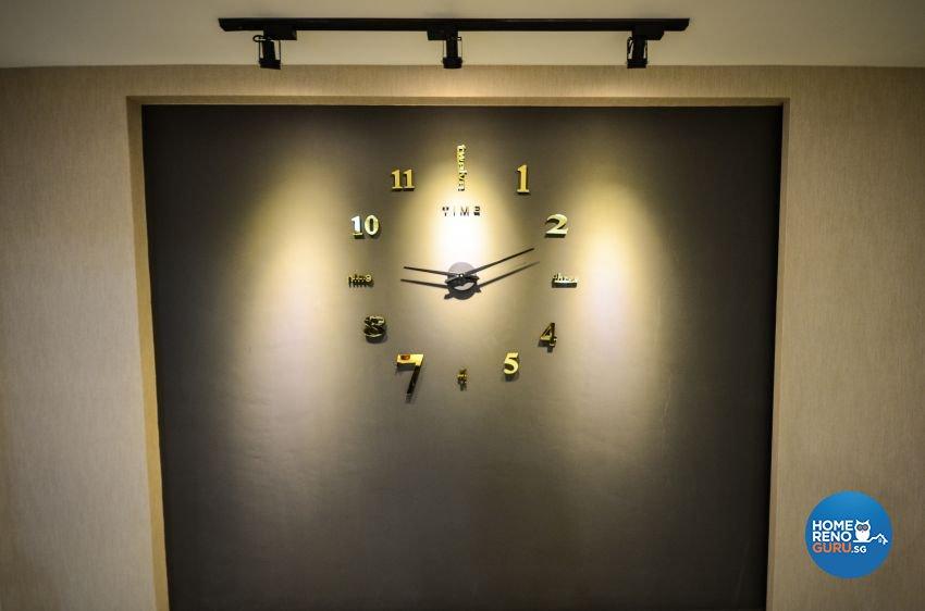 Industrial, Scandinavian Design - Living Room - HDB 5 Room - Design by Des & Co Interior Pte Ltd