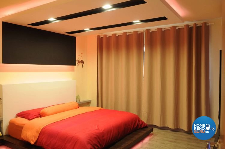 Minimalist, Modern Design - Bedroom - HDB 5 Room - Design by Design 4 Space Pte Ltd