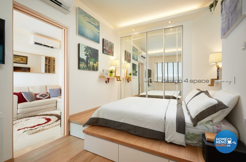 Minimalist Design - Bedroom - Condominium - Design by Design 4 Space Pte Ltd