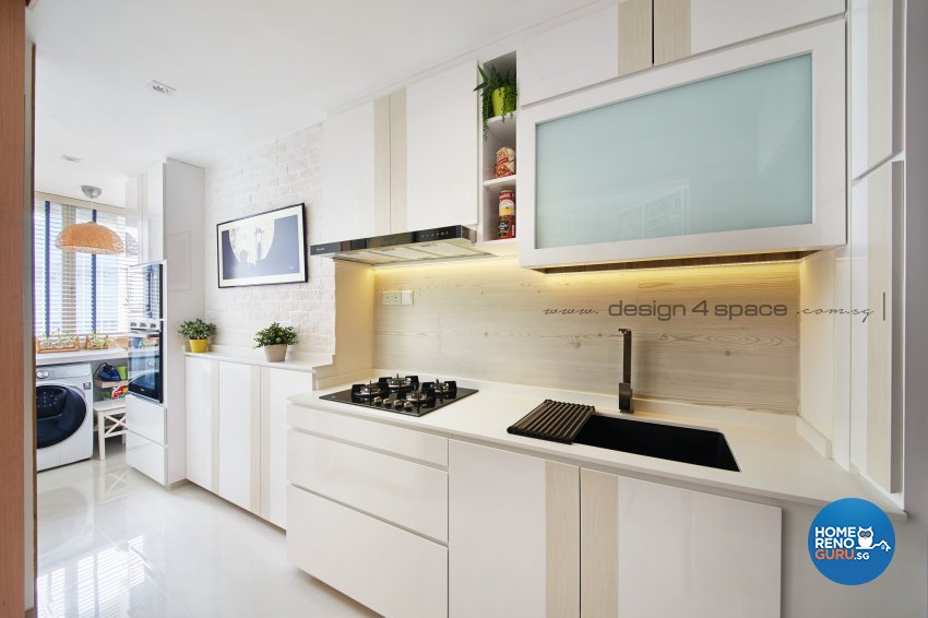 Minimalist Design - Kitchen - Condominium - Design by Design 4 Space Pte Ltd