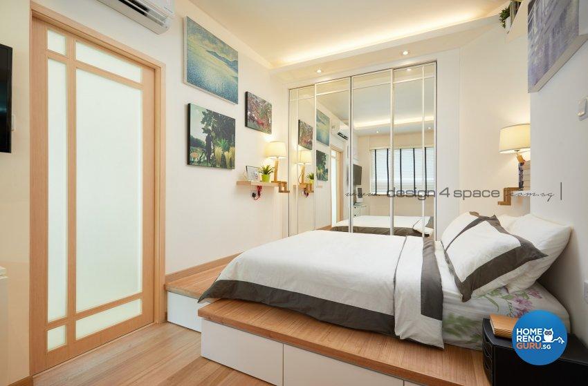 Minimalist Design - Bedroom - Condominium - Design by Design 4 Space Pte Ltd