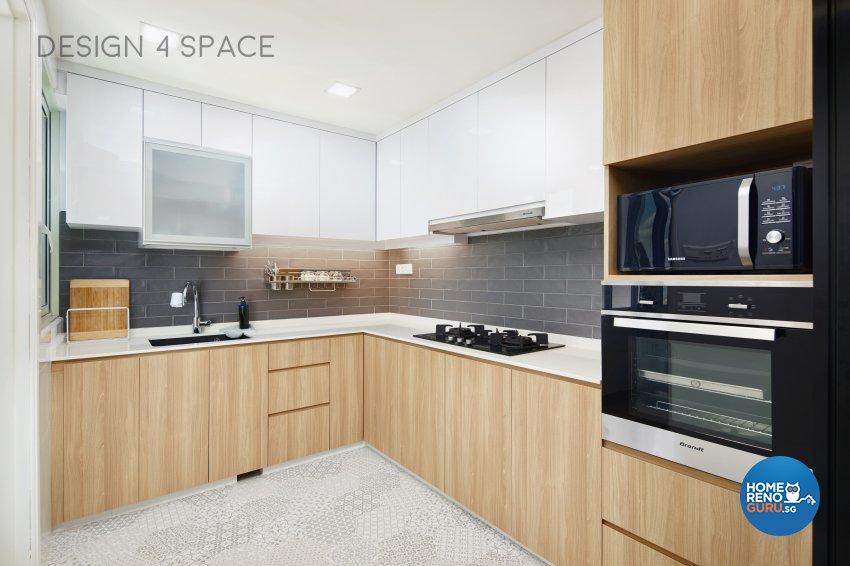 Contemporary, Minimalist, Scandinavian Design - Kitchen - Condominium - Design by Design 4 Space Pte Ltd