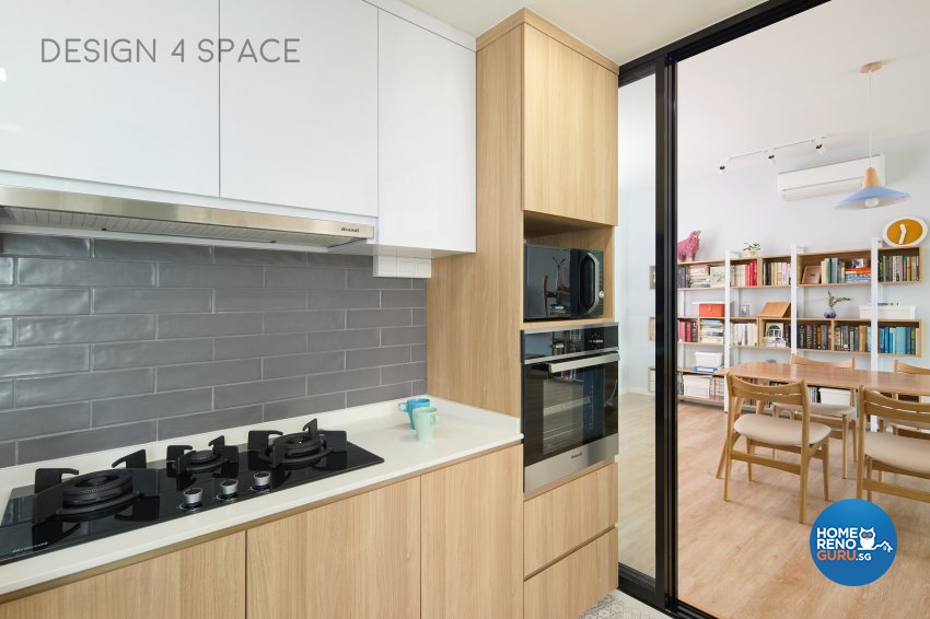 Contemporary, Minimalist, Scandinavian Design - Kitchen - Condominium - Design by Design 4 Space Pte Ltd
