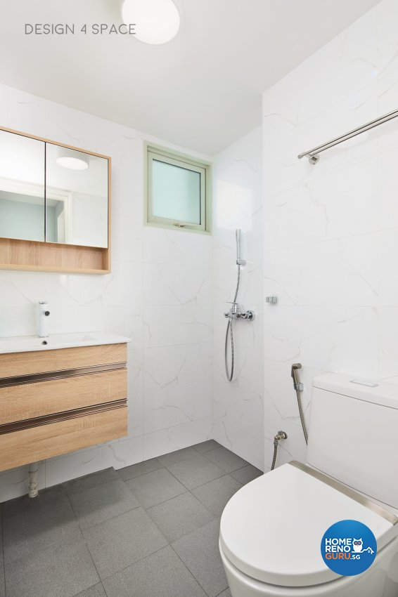 Contemporary, Minimalist, Scandinavian Design - Bathroom - Condominium - Design by Design 4 Space Pte Ltd