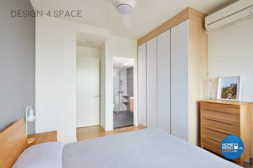 Contemporary, Minimalist, Scandinavian Design - Bedroom - Condominium - Design by Design 4 Space Pte Ltd