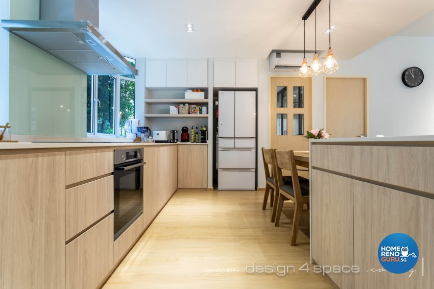 Scandinavian Design - Kitchen - Condominium - Design by Design 4 Space Pte Ltd