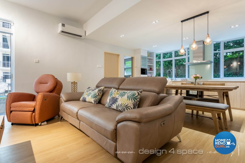 Scandinavian Design - Living Room - Condominium - Design by Design 4 Space Pte Ltd