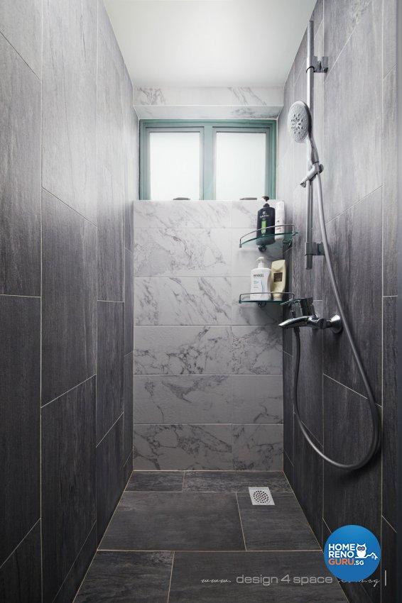 Industrial, Modern, Rustic Design - Bathroom - Condominium - Design by Design 4 Space Pte Ltd