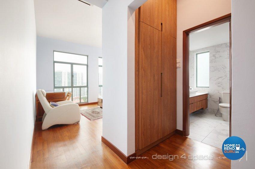 Industrial, Modern, Rustic Design - Bedroom - Condominium - Design by Design 4 Space Pte Ltd