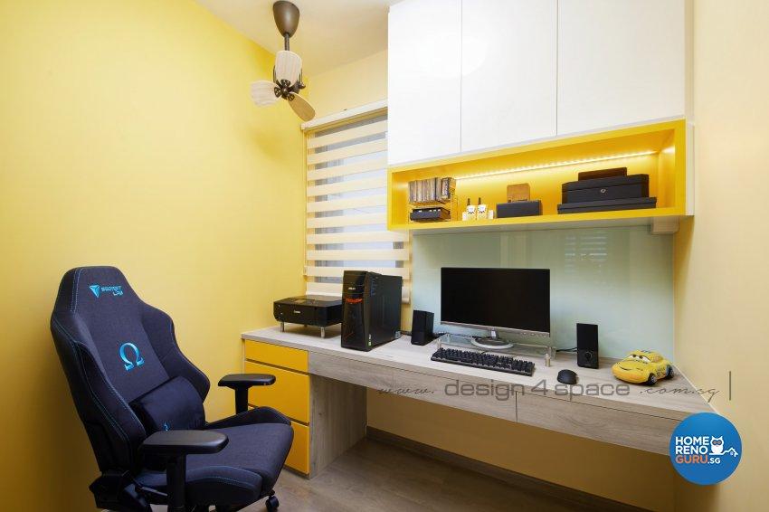 Contemporary Design - Study Room - Condominium - Design by Design 4 Space Pte Ltd