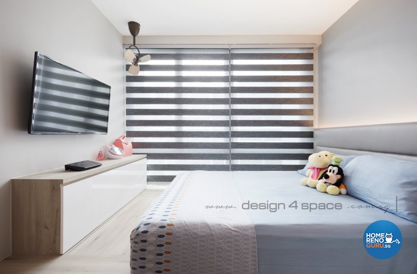Contemporary Design - Bedroom - Condominium - Design by Design 4 Space Pte Ltd