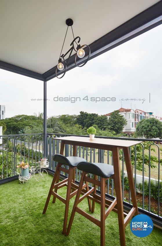 Modern Design - Garden - Condominium - Design by Design 4 Space Pte Ltd