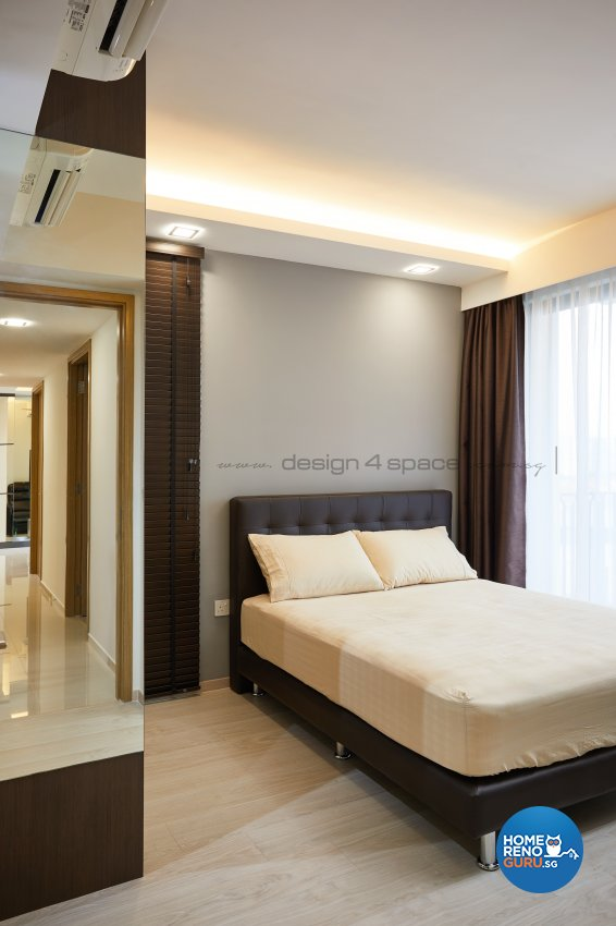 Modern Design - Bedroom - Condominium - Design by Design 4 Space Pte Ltd