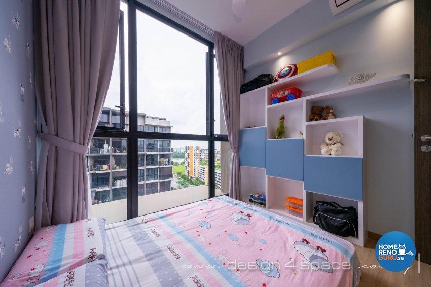 Contemporary Design - Bedroom - Condominium - Design by Design 4 Space Pte Ltd