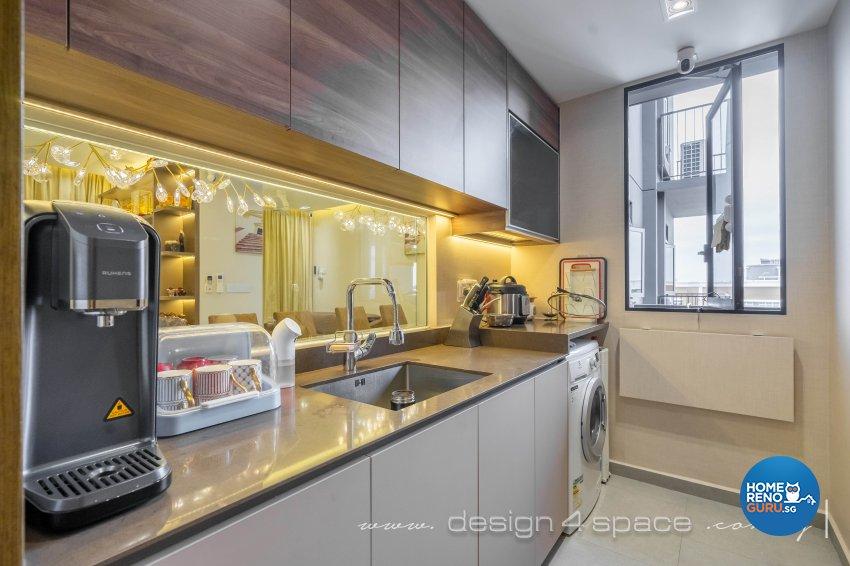 Contemporary Design - Kitchen - Condominium - Design by Design 4 Space Pte Ltd