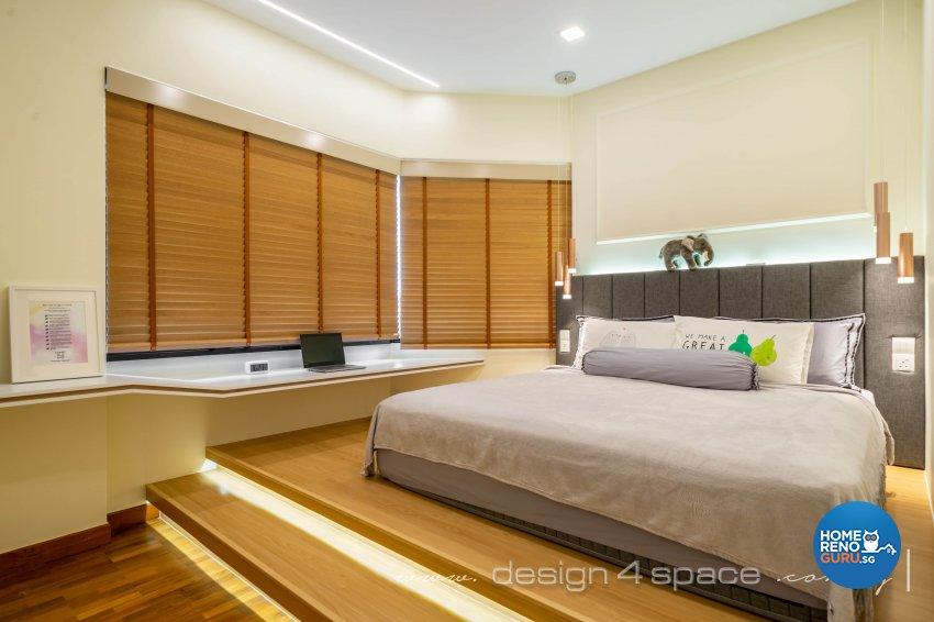 Minimalist, Modern Design - Bedroom - Condominium - Design by Design 4 Space Pte Ltd