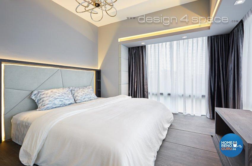 Contemporary, Minimalist, Modern Design - Bedroom - Condominium - Design by Design 4 Space Pte Ltd