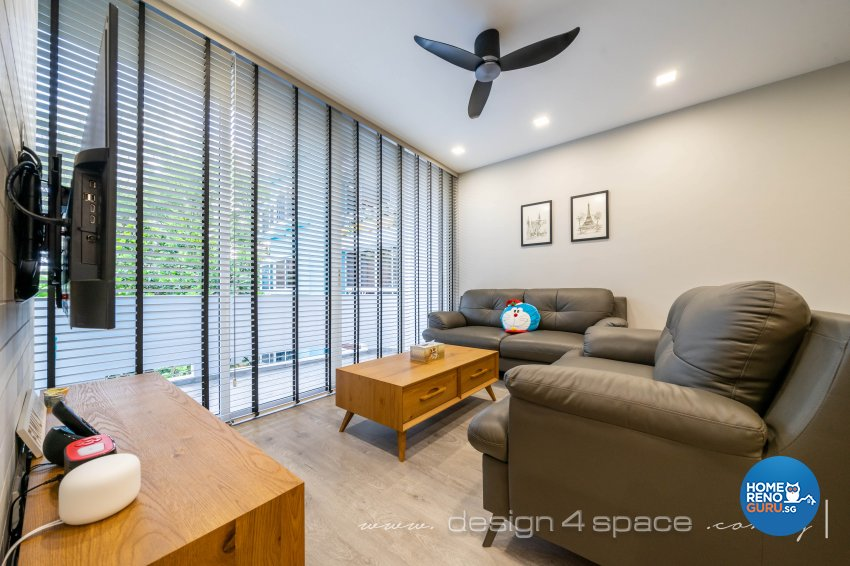 Modern, Scandinavian Design - Living Room - Condominium - Design by Design 4 Space Pte Ltd