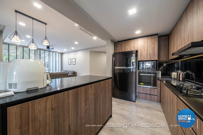 Modern, Scandinavian Design - Kitchen - Condominium - Design by Design 4 Space Pte Ltd