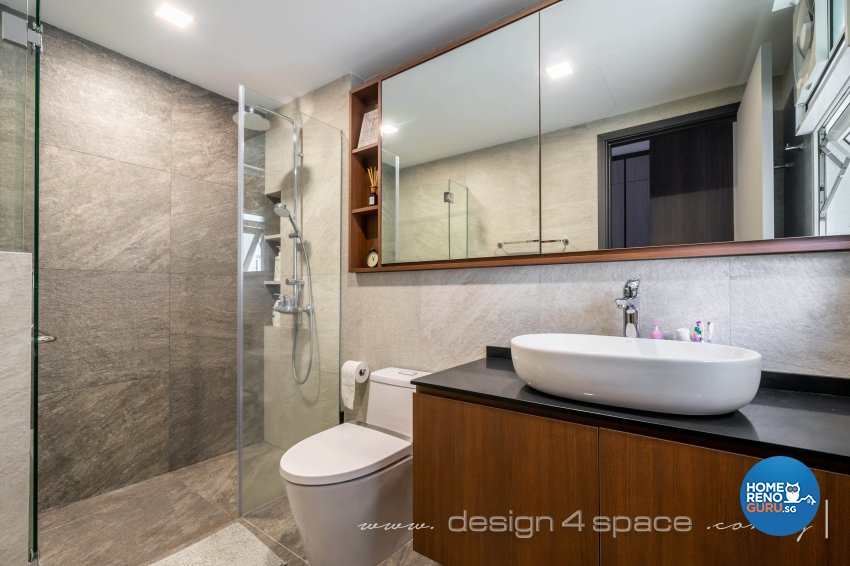 Modern, Scandinavian Design - Bathroom - Condominium - Design by Design 4 Space Pte Ltd
