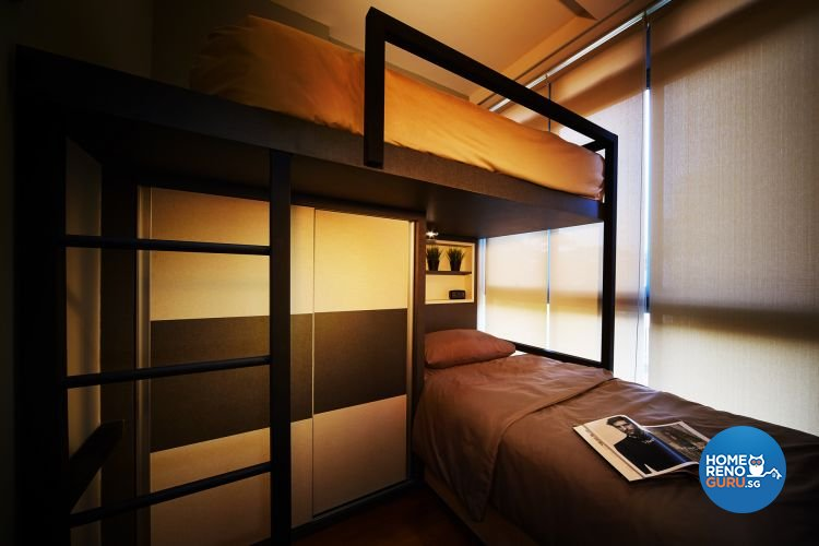 Contemporary, Minimalist Design - Bedroom - Condominium - Design by Design 4 Space Pte Ltd