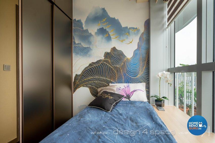 Modern Design - Bedroom - Condominium - Design by Design 4 Space Pte Ltd