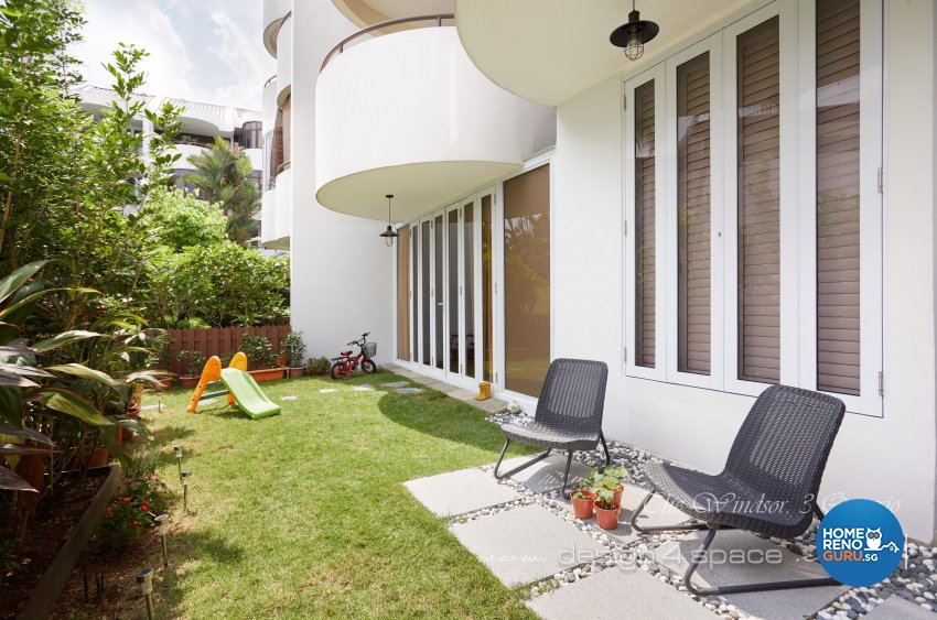 Contemporary Design - Balcony - Condominium - Design by Design 4 Space Pte Ltd