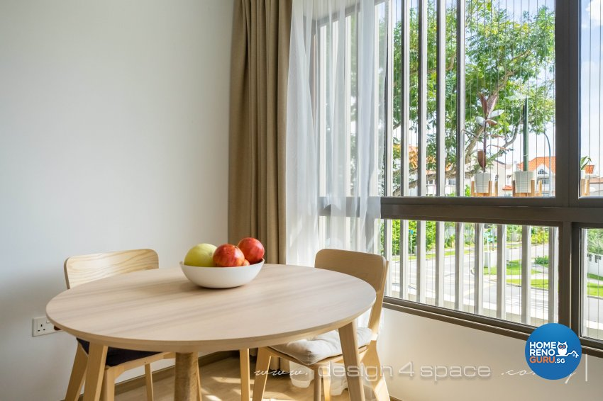 Minimalist Design - Dining Room - Condominium - Design by Design 4 Space Pte Ltd