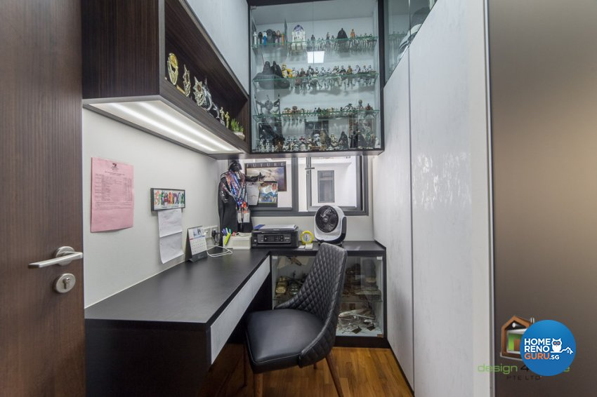 Contemporary, Tropical Design - Study Room - Condominium - Design by Design 4 Space Pte Ltd