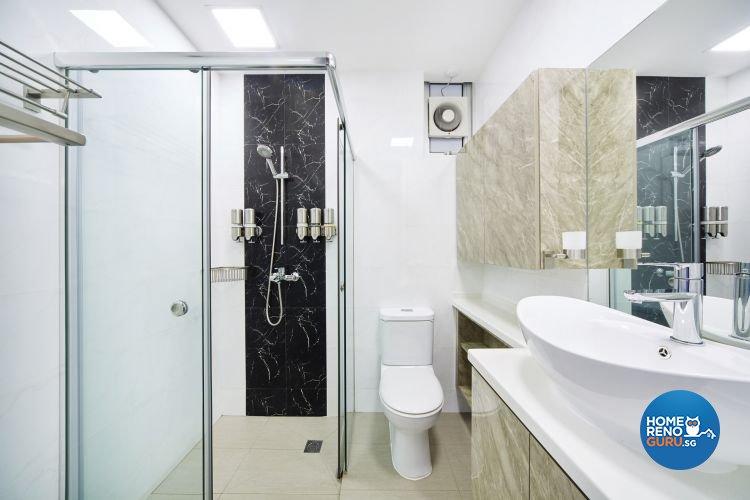 Contemporary, Scandinavian Design - Bathroom - Condominium - Design by Design 4 Space Pte Ltd