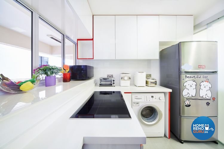 Contemporary, Scandinavian Design - Kitchen - Condominium - Design by Design 4 Space Pte Ltd