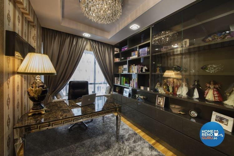 Classical, Modern Design - Study Room - Condominium - Design by Design 4 Space Pte Ltd