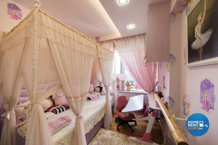 Classical, Modern Design - Bedroom - Condominium - Design by Design 4 Space Pte Ltd