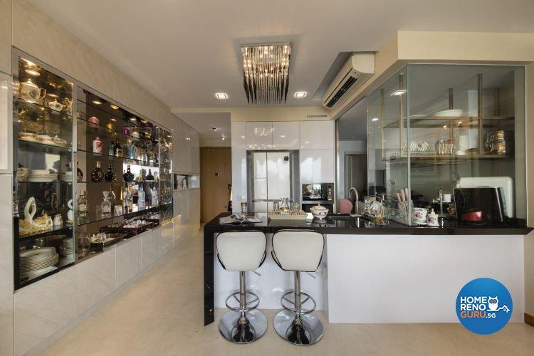 Classical, Modern Design - Dining Room - Condominium - Design by Design 4 Space Pte Ltd